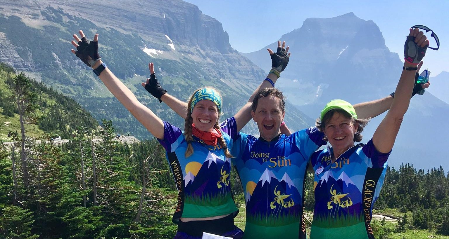 Glacier Ride Charitable Bicycle Ride Funds Two Major Park Projects
