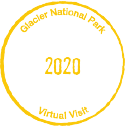 Glacier Passport Stamp icon