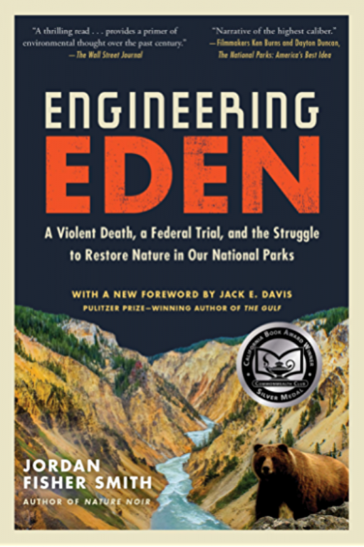"The book cover for ""Engineering Eden""b"