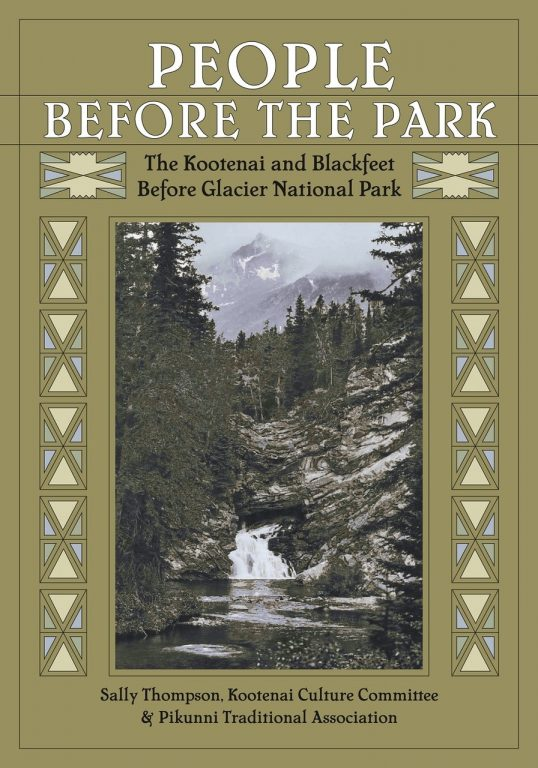 """The book cover for """"People Before The Park"""" by Sally Thompson"""