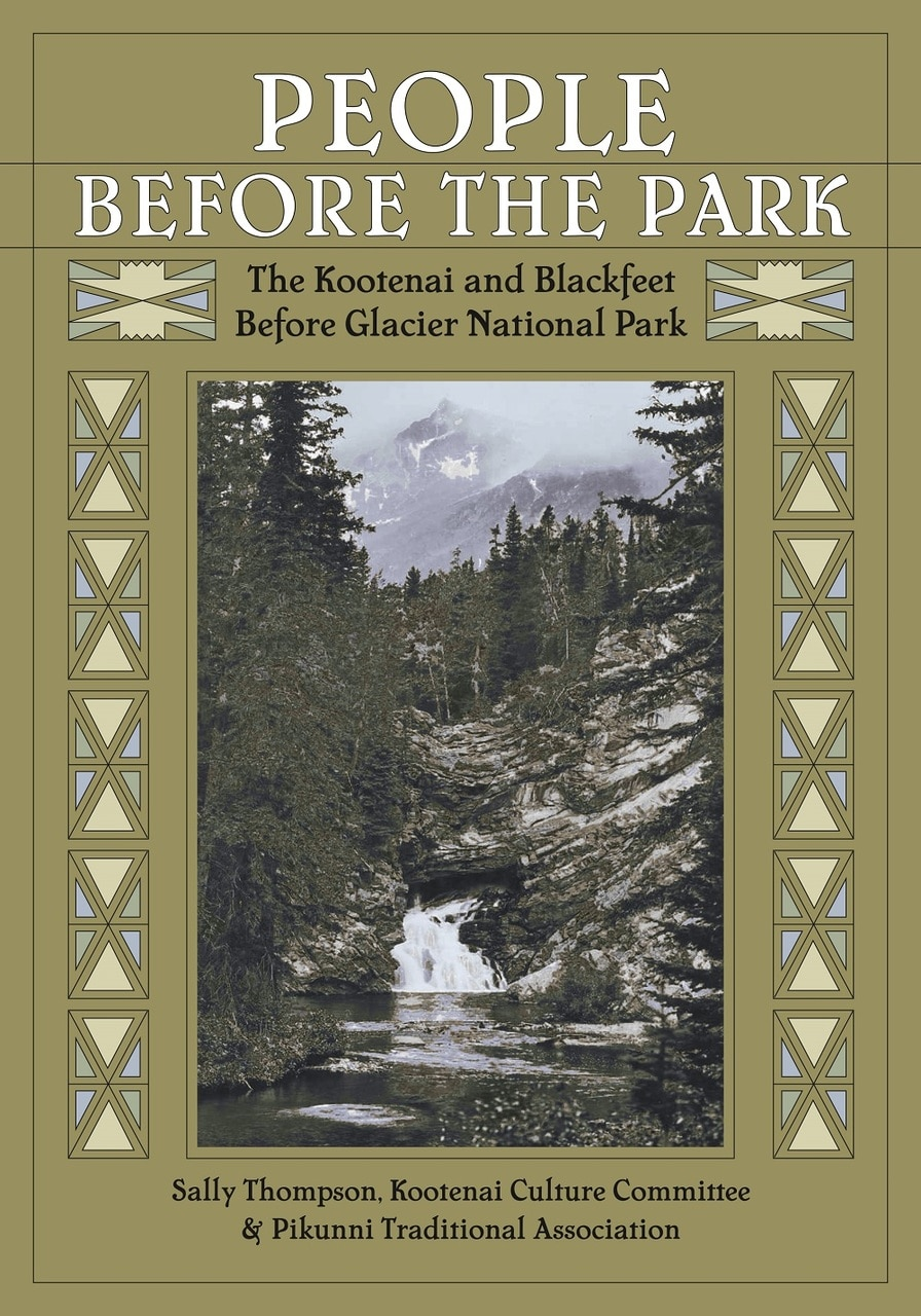 "The book cover for ""People Before The Park"" by Sally Thompson"
