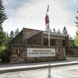 Glacier National Park Headquarters Building