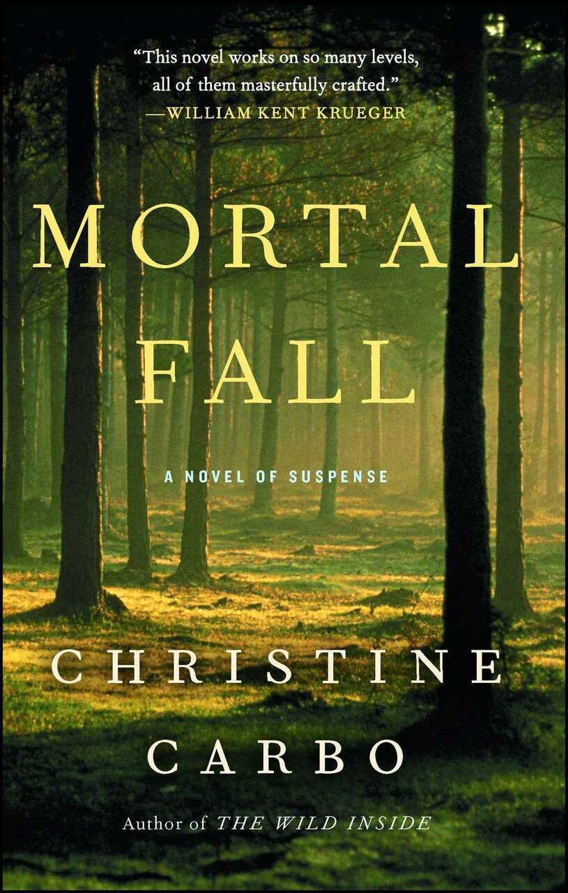 "The book cover for ""Mortal Fall"" by Christine Carbo"
