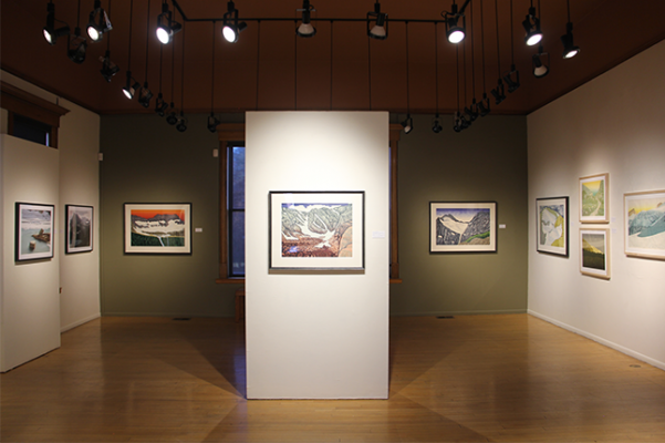 Exhibition The Last Glacier at the Hockaday Museum in Kalispell, MT