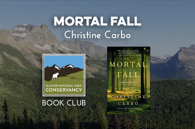 Mortal fall book club graphic.