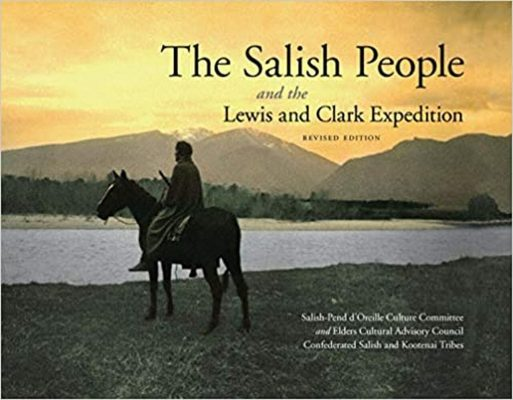 The book cover for The Salish People and the Lewis and Clark Expedition